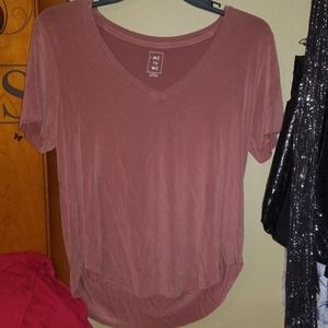 Pacsun Me To We V Neck Tee